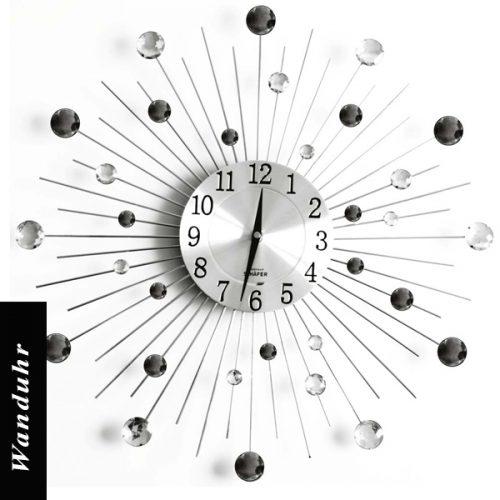 wanduhr-o-50cm-schwarz-weiss-geschwungen
